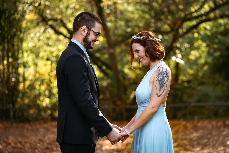 Hochzeitsfotograf | Brautpaarportraits im Schloßpark Bad Kreuznach