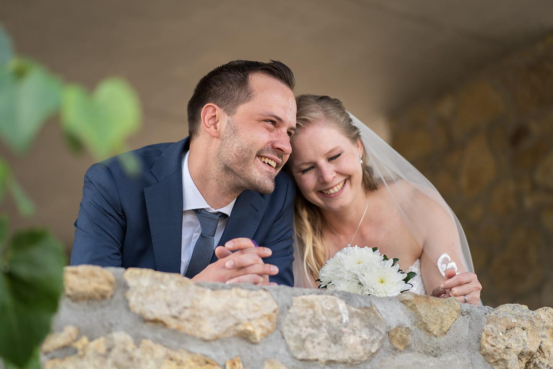 Hochzeitsfotograf | Brautpaar Portrait Guntersblum