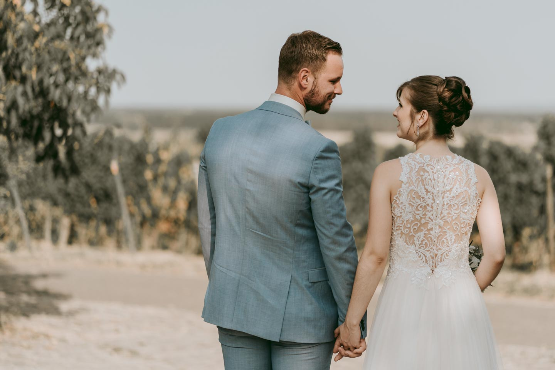 Hochzeitsfotograf- Brautpaar Portrait