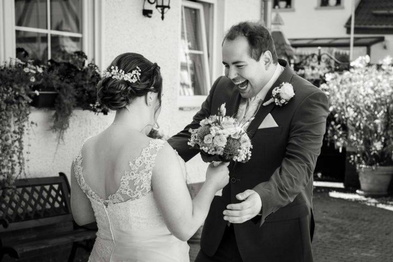 Hochzeitsfotograf | Brautpaar First Look